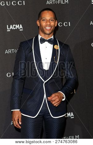 LOS ANGELES - NOV 3:  Victor Cruz at the 2018 LACMA: Art and Film Gala at the Los Angeles County Musem of Art on November 3, 2018 in Los Angeles, CA