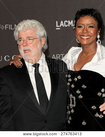 LOS ANGELES - NOV 3:  George Lucas at the 2018 LACMA: Art and Film Gala at the Los Angeles County Musem of Art on November 3, 2018 in Los Angeles, CA