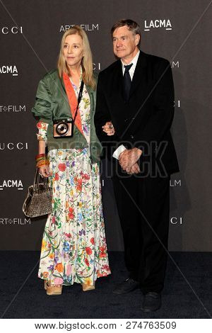 LOS ANGELES - NOV 3:  Paige Powell, Gus Van Sant at the 2018 LACMA: Art and Film Gala at the Los Angeles County Musem of Art on November 3, 2018 in Los Angeles, CA