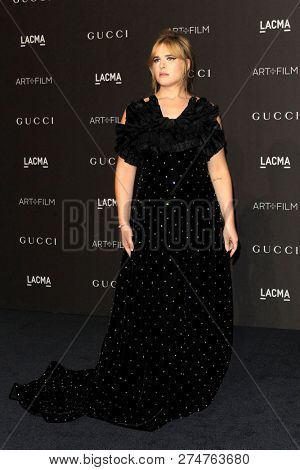 LOS ANGELES - NOV 3:  Hari Nef at the 2018 LACMA: Art and Film Gala at the Los Angeles County Musem of Art on November 3, 2018 in Los Angeles, CA