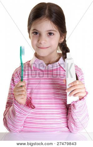oral hygiene from child advice