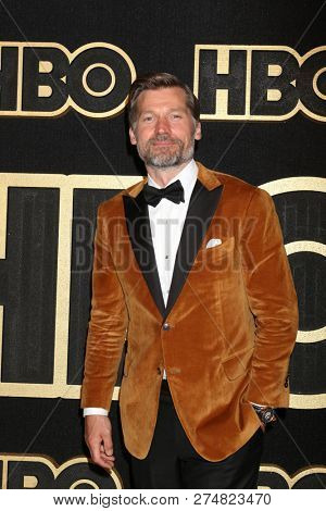 LOS ANGELES - SEP 17:  Nikolaj Coster-Waldau at the HBO Emmy After Party - 2018 at the Pacific Design Center on September 17, 2018 in West Hollywood, CA