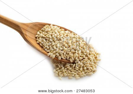 barley over spoon