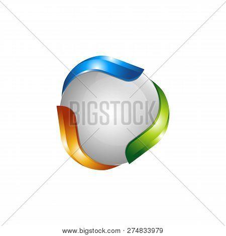 Vector Planet Logo. Orbit Vector And Satellite Logo. Cosmos Logo. Planet Best Logo. Planet Concept L