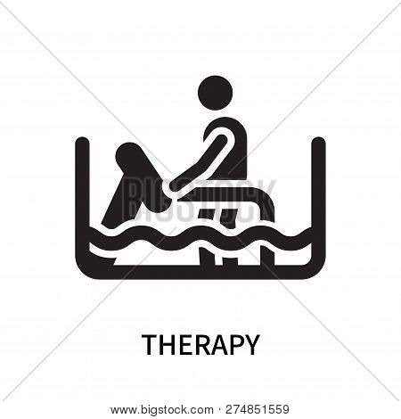Therapy Icon Isolated On White Background. Therapy Icon Simple Sign. Therapy Icon Trendy And Modern