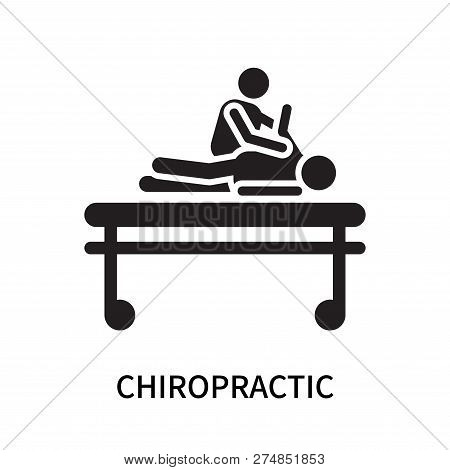 Chiropractic Icon Isolated On White Background. Chiropractic Icon Simple Sign. Chiropractic Icon Tre