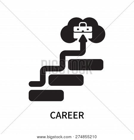 Career Icon Isolated On White Background. Career Icon Simple Sign. Career Icon Trendy And Modern Sym
