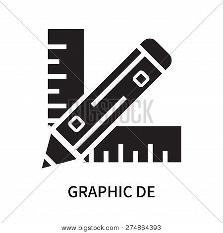 Graphic De Icon Isolated On White Background. Graphic De Icon Simple Sign. Graphic De Icon Trendy An