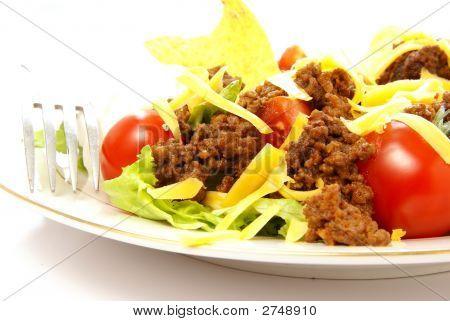 Taco Salad Close Up