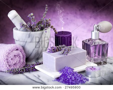 spa lavender products