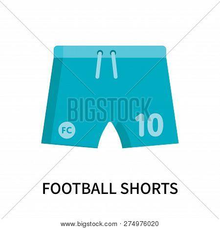 Football Shorts Icon Isolated On White Background. Football Shorts Icon Simple Sign. Football Shorts