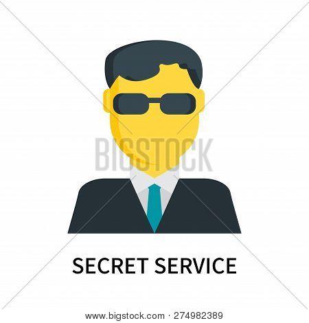 Secret Service Icon Isolated On White Background. Secret Service Icon Simple Sign. Secret Service Ic