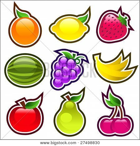 Glossy Fruits