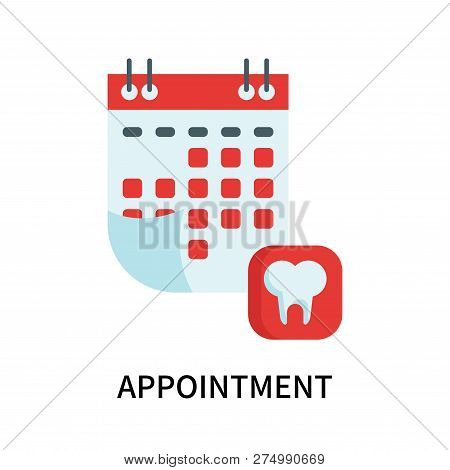 Appointment Icon Isolated On White Background. Appointment Icon Simple Sign. Appointment Icon Trendy