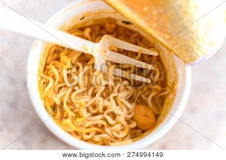 Instant Noodles In The Cup, Instant Noodle Soup In The Cup