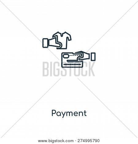 Payment Icon In Trendy Design Style. Payment Icon Isolated On White Background. Payment Vector Icon
