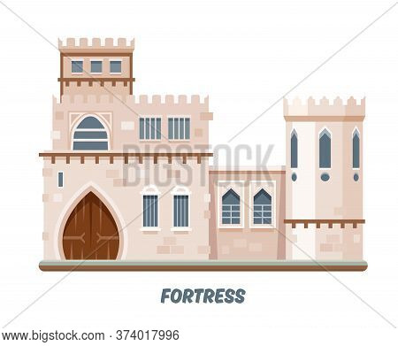 Fortress Castle Or Medieval Kingdom Fort Towers