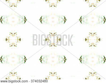 Simple Cotton Print. Santorini Pattern Original. Simple Fabric Ornate. Pastel Seamless Luxurious Lac
