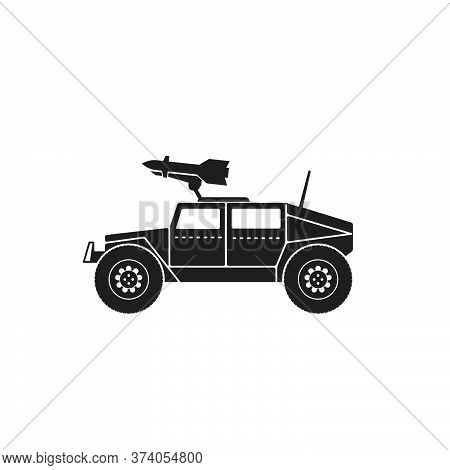 Illustration Vector Graphic Of War Truck. Good For, Perfect For Military, Army, Vehicle, Armored, Tr