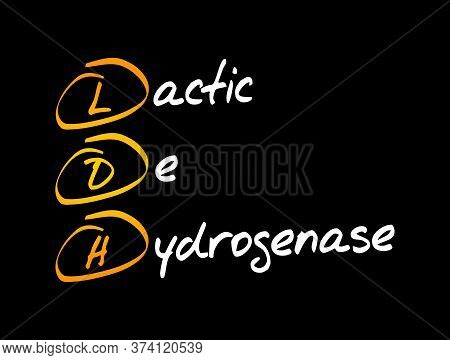 Ldh - Lactic Dehydrogenase Acronym, Medical Concept Background