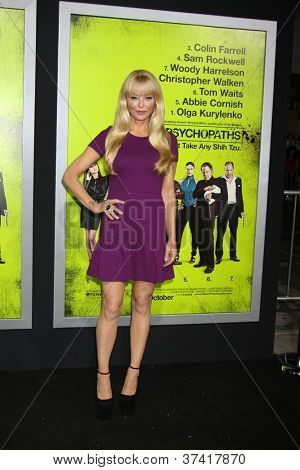 """LOS ANGELES - OCT 30:  Charlotte Ross  at the """"Seven Psychopaths"""" Premiere at Bruin Theater on October 30, 2012 in Westwood, CA"""