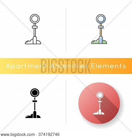 Sign Post Icon. Traffic Sign For Urban Infrastructure. Guidepost For Transportation. Regulate Public