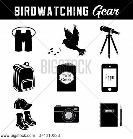 Bird Watching Equipment And Gear For The Avid Birder, Binoculars, Song, Telescope, Tripod, Day Pack,
