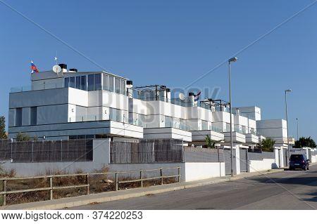 Orihuela, Costa Blanca, Spain - September 21, 2018:residential Residence On The Costa Blanca In Orih