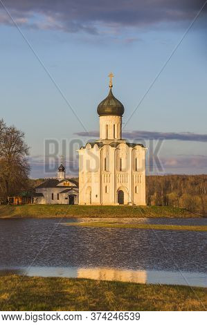Church Of The Intercession On The Nerl River, Russia
