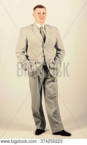 Wedding Fashion. Man Well Groomed Elegant Caucasian Appearance Wear Formal Clothes. Male Fashion Sto