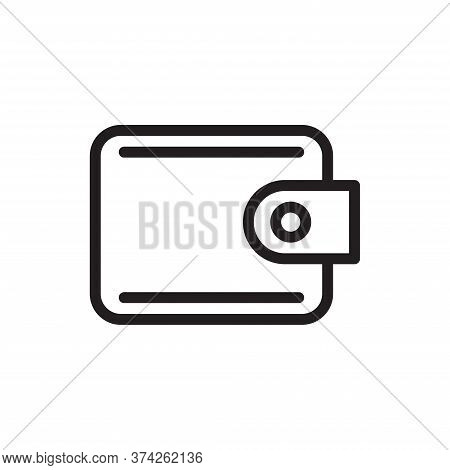 Wallet Icon Isolated On White Background. Wallet Icon In Trendy Design Style For Web Site And Mobile