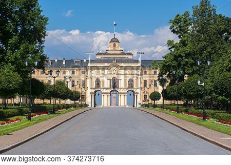 Konstantinovsky (congress) Palace And Gardens, Saint Petersburg, Russia