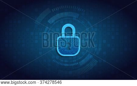 Data Protection, Privacy, And Internet Security Concept. Cybersecurity For Business And Internet Pro