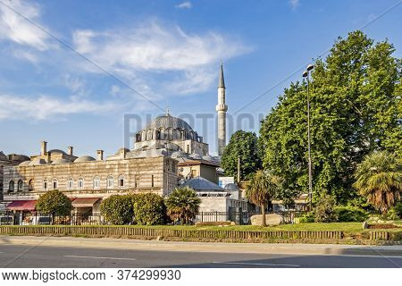 Istanbul,turkey-june 24,2020.dream City Istanbul, Between Asia And European Continents.landscape And