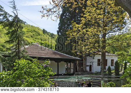 German, Bulgaria - May 11, 2014: Orthodox German Monastery Dedicated To Saint John Of Rila, Sofia Ci