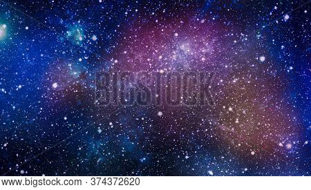 Deep Space. High Definition Star Field Background . Starry Outer Space Background Texture . Colorful