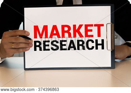 Chart Business Graph Result Company Market Research Concept
