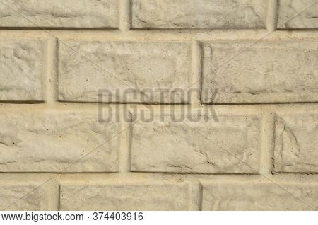 The Graphic Resource Consists Of The Surface Of A Concrete Slab Molded Into Brickwork.