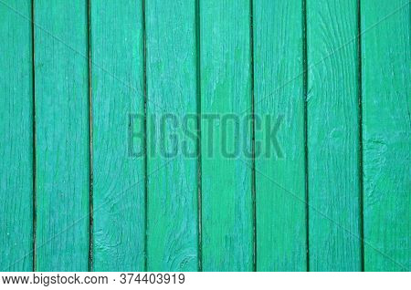 The Graphic Resource Consists Of Vertical Wooden Planks In Green Paint.