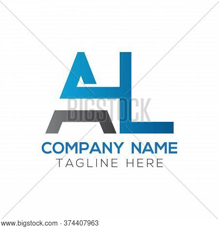 Initial Al Letter Logo Design Modern Business Typography Vector Template. Creative Linked Letter Al