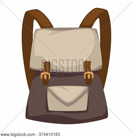 Rucksack For Travelers Or School Kids, Model Of Satchel
