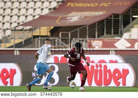 Torino (italy) 30th June 2020 . Italian Football League Serie A.  Torino Fc Vs Ss Lazio. Temitayo Ai