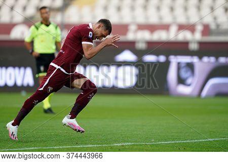Torino (italy) 30th June 2020 . Italian Football League Serie A.  Torino Fc Vs Ss Lazio. Andrea Belo