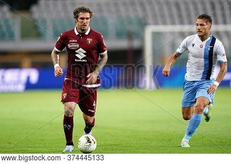 Torino (italy) 30th June 2020 . Italian Football League Serie A.  Torino Fc Vs Ss Lazio. Lyanco Of T
