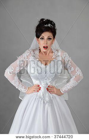 Bride In A Very Tight Corset