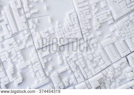 Architecture Model Building Layout Plan City Urban Cityscape Design