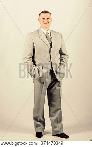 Formal Party Or Meeting. Business Owner. Confident Man. Modern Life. Man Business Suit. Businessman.
