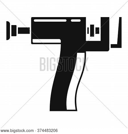 Piercing Gun Icon. Simple Illustration Of Piercing Gun Vector Icon For Web Design Isolated On White