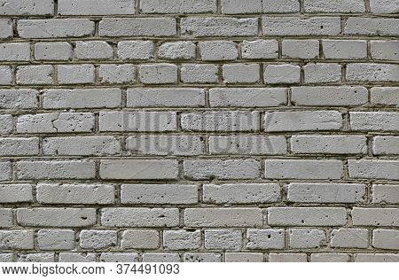 A Gray Brick Wall Texture Background, Brickwall