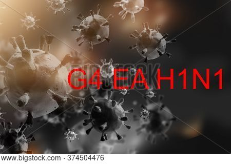 Research Experiment Biotech Make Cultivate Vaccine Against Virus G4eah1n1. Chemistry Science Laborat